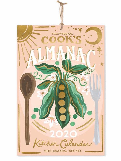 2020 Cooks Almanac Calendar