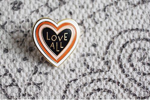 Love All Pin