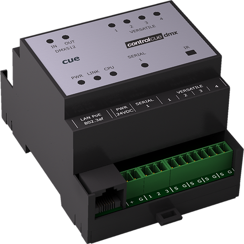 controlCUE-dmx-d med DMX Kontrollport