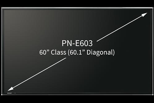 "SHARP 60"" LED Skjerm Pro 450cd/m²"
