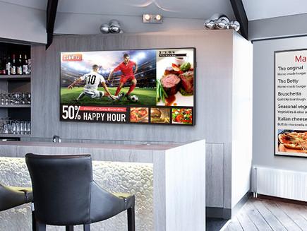 Samsung LED Digital Skilting Til Butikken, Baren Eller Restauranten.