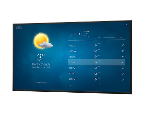 "SHARP 90"" LED Skjerm Pro 350cd/m²"