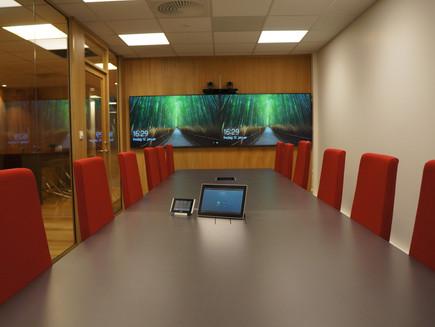 Alfa Audio Solutions har levert møteromsløsninger til Swire Seabed.