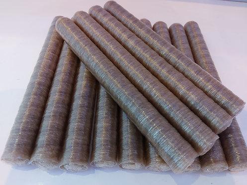 """- שרוול מילוי מן הצומח, עשוי תאית  קוטר 30 מ""""מ  , כשר פרווה, טבעוני"""
