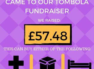 Tombola Raises £57.48!