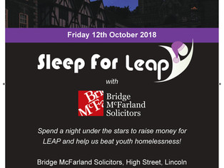Get Involved with Sleep for LEAP 2018!