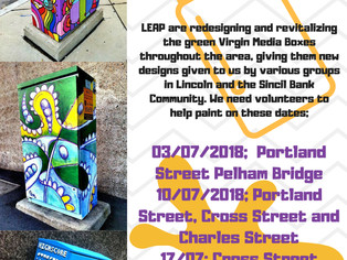 Get Involved with LEAP's New Art Project!