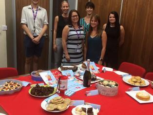 Bridge McFarland Bake Sale Raises Over £100 for LEAP!