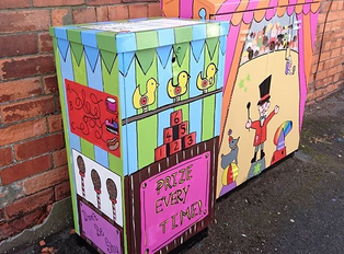 Phase Two of The Sincil Bank Community Art Project Gets Underway!