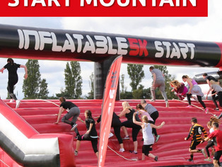 Charity runner to take on the Inflatable 5K to raise funds for LEAP!