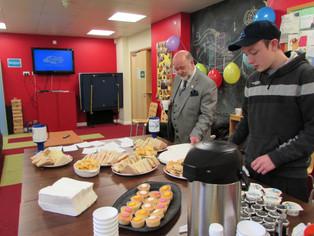 LEAP Celebrates World Hello Day with Cream Tea and Scones