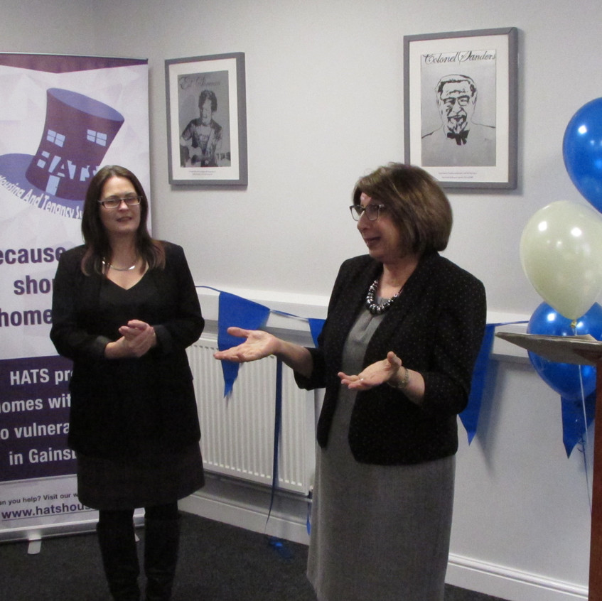 Photos from the HATS launch event on the 22nd February 2018! The charity will provide a vital service to vulnerable people in Gainsborough!