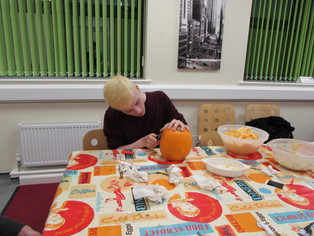 In pictures: Pumpkin carving competition