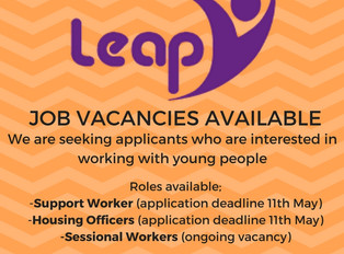 Sessional Support Workers Wanted!