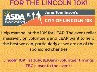 Volunteers Wanted for the Lincoln 10K!