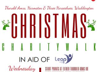 Christmas Charity Walk Raises £613.27!