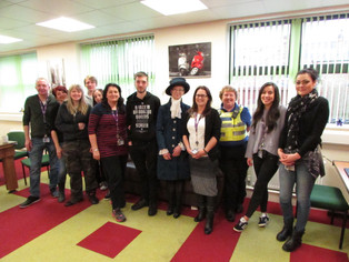 Visit from the High Sheriff