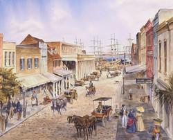 Vendue Range Charleston SC circa 1860