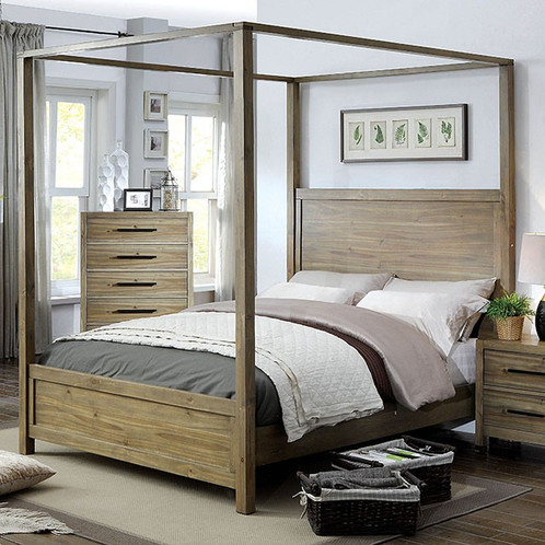 Garland Canopy Queen Bed Only (CM7355)