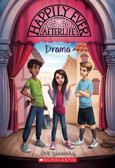 Happily Ever Afterlife Drama book