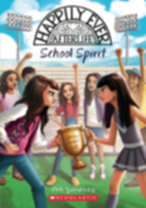 Happily Ever Afterlife School Spirit book