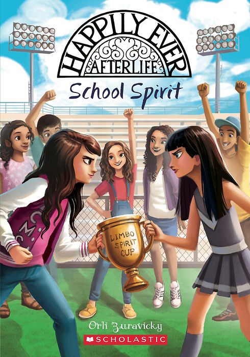 Happily Ever Afterlife School Spirit book