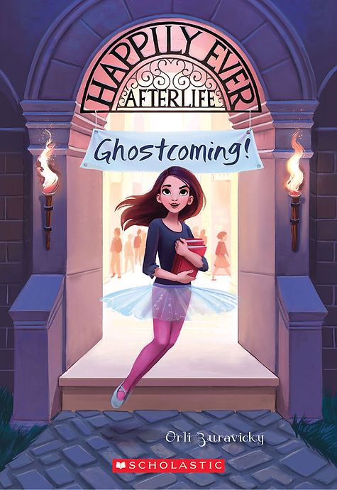 Happily Ever Afterlife Ghostcoming! book