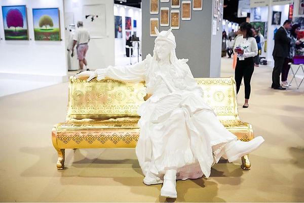 Irina Lagoshina, Baba Yaga, Cultural Code ext 007, World Art Dubai, Russian Art, Russian Culture
