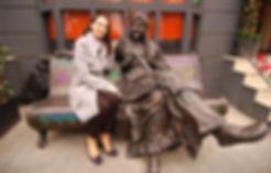 Sculpture of Baba Yaga in London, IrinaLagoshina