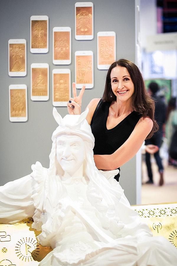 Irina Lagoshina, World Art Dubai, Russian Art, Russian Culture, Cultural Code ext 007, contemporary art exhibition