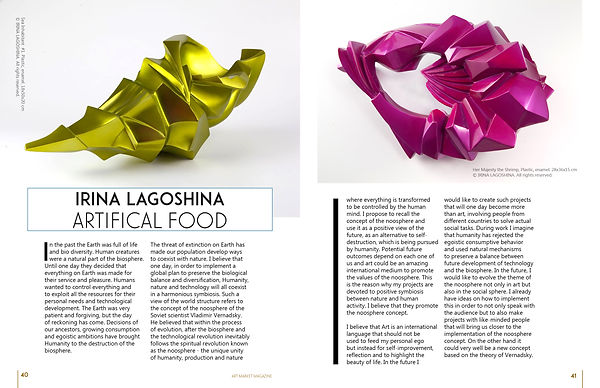 russian sculpturer, art, russian art,Ирина Лагошина интервью, ИринаЛагошина, artifical food