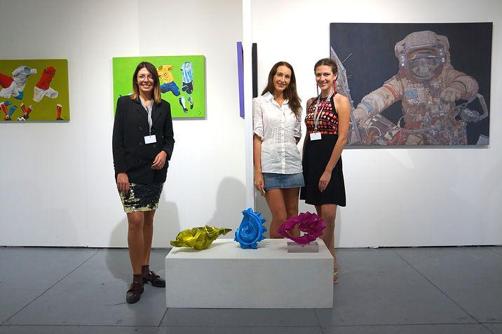 Miami Art Week 2017, Scope, Boogie gallery booth