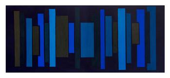 Untitled   Oil & Acrylic on Canvas   40x100cm   2017