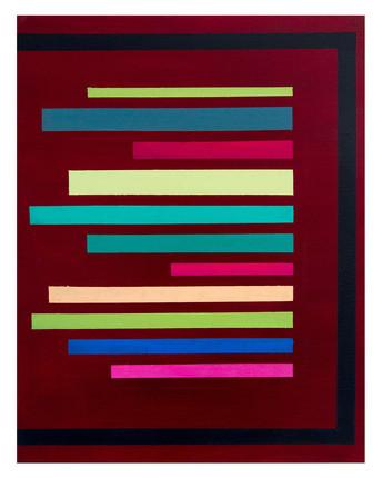 Untitled   Oil & Acrylic on Canvas   40x60cm   2017