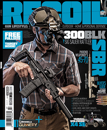 MAGPUL SS18- RECOIL Magazine Cover