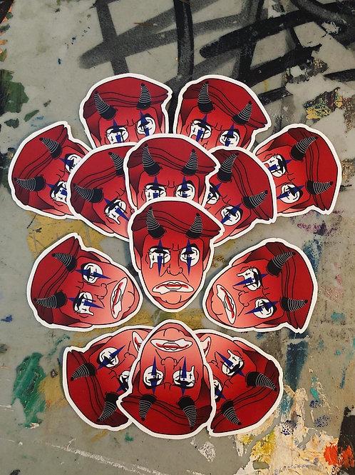 Devil Trump Sticker