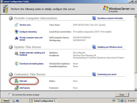 Windows Server 2008 – Como configurar um domínio