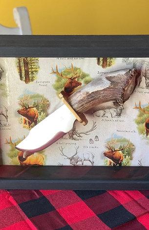 Elk Bowie Knife - SOLD