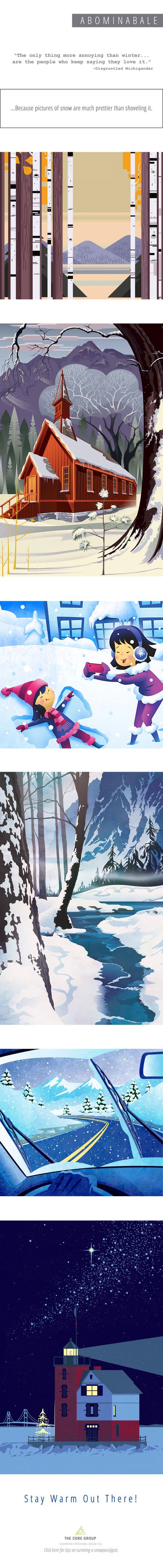 Snow-pocolypse!