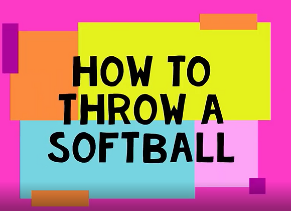 How to Throw a Softball for Beginners