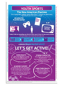 YMCA of Greater Charlott Youth Sports Infographic