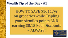 SAVE $1611/yr at Safeway; Triple your Airmiles + Save $0.15/litre using gift cards!