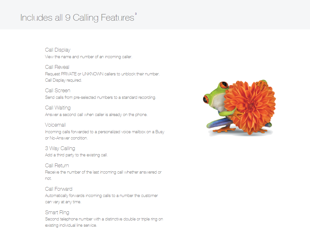 Telus Home Phone Calling Features