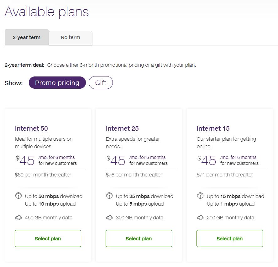 Telus Internet Home - 2yr