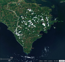 Costa Rica Map 3