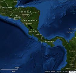 Costa Rica Map 2
