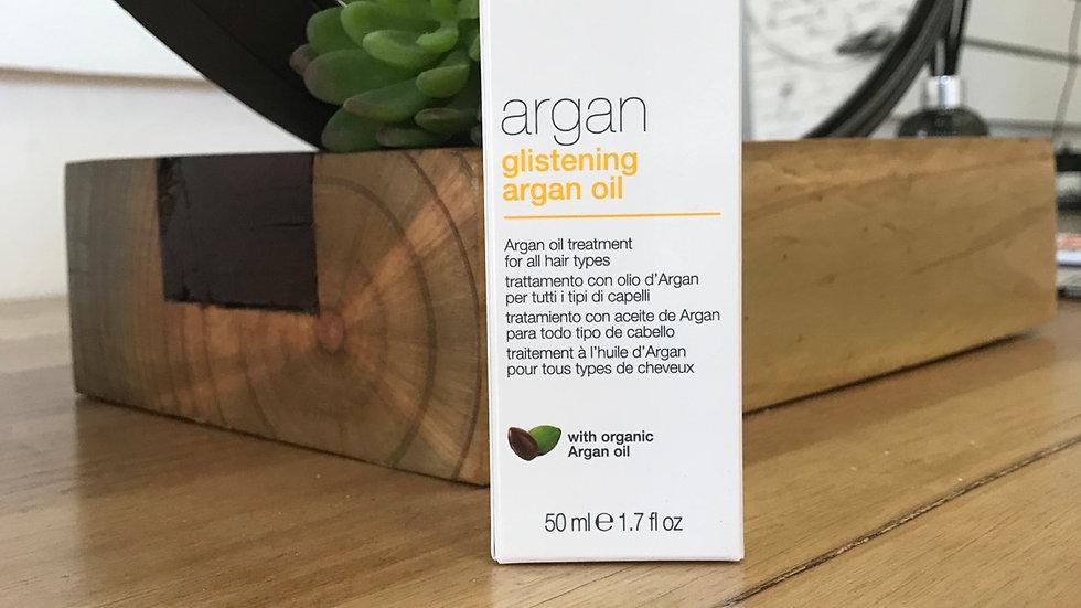 Glistening Argan oil