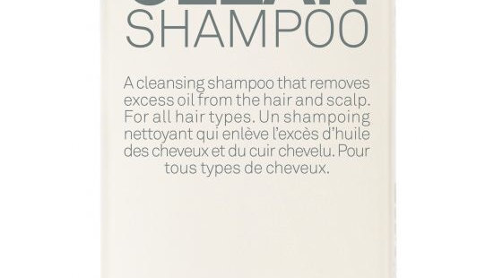 Deep cleanse shampoo