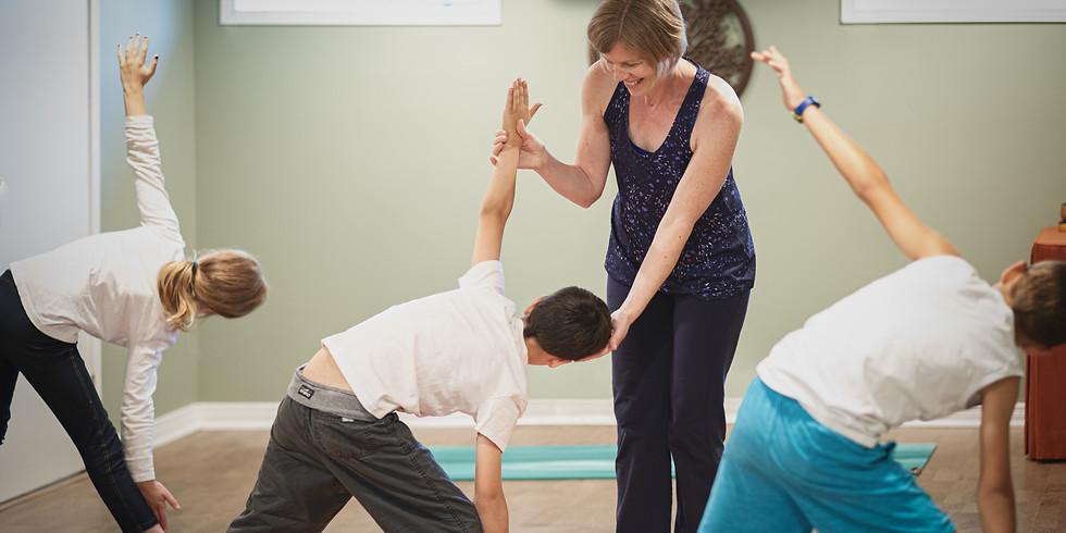 Family Yoga & Crafts-Thanksgiving Theme