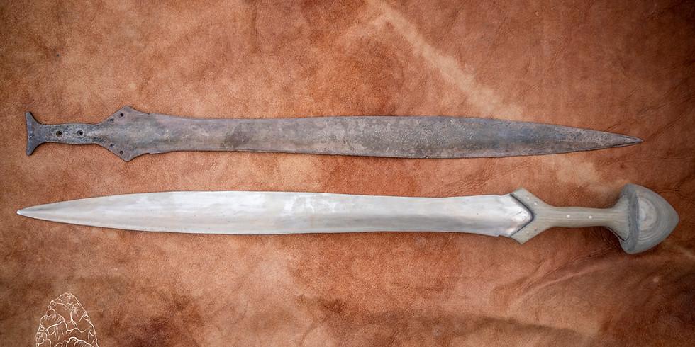 Bronze Age Sword Casting Workshop: 12th June: